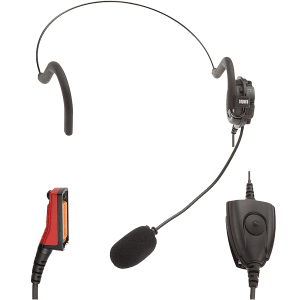 STP8X Lightweight Headset with In-Line PTT
