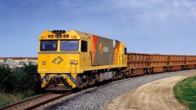 Image Credit Aurizon Rail