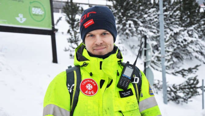 Åre Ski Resort Sweden use Sepura radios for resort safety