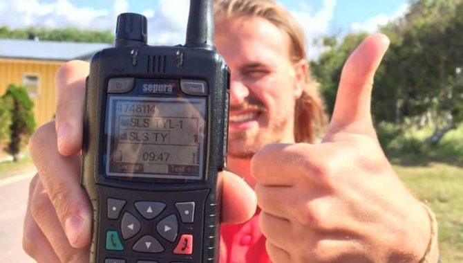 Sepura radios in use with Tylosand Lifeguards