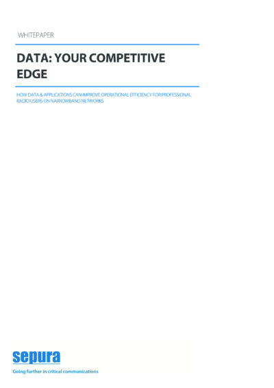 Data Your Competitive Edge