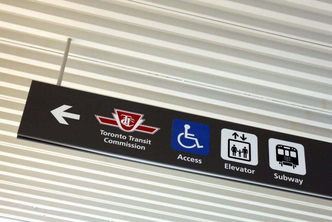 Toronto Transit Commission Sign 2