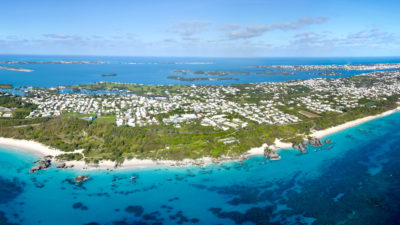 Bermuda is over 20 square miles, with a permanent population of over 70,000 residents.