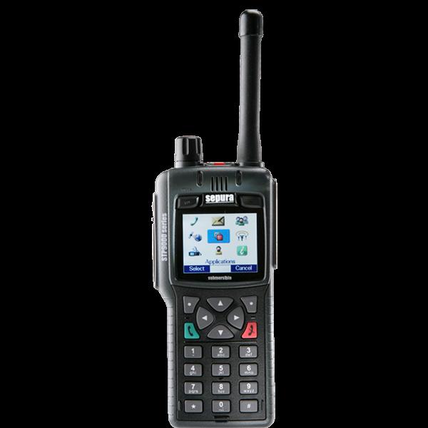 Stp9000 Tetra Hand Portable Radio Sepura
